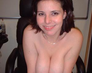 Big tits nerdy girl sucks and fucks in the office