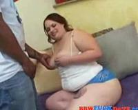 BBW interracial intercourse