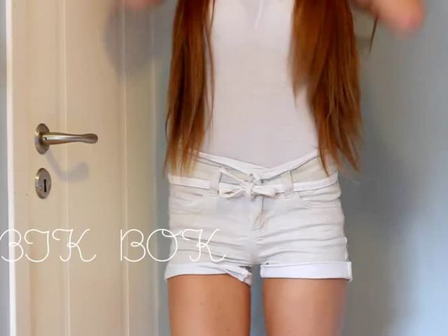 Sexy young Norwegian Teen Hotpants collection->