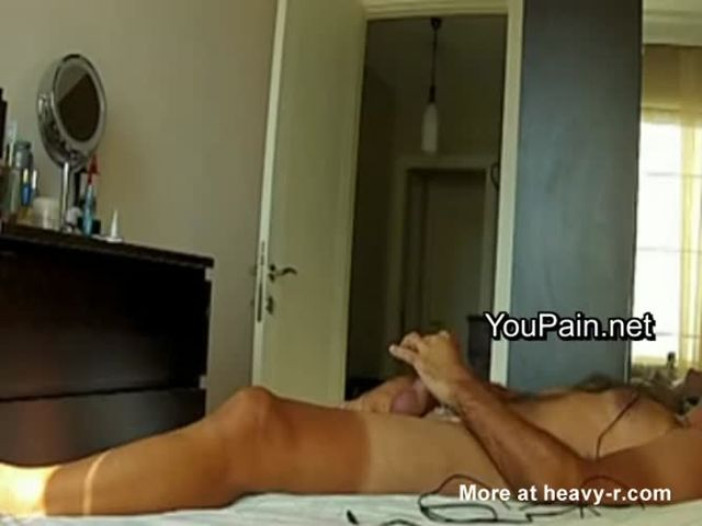 Intentionally caught jacking off