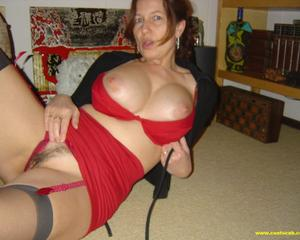 Busty mature trophy wife
