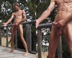 Up my Penis and Fist Fucked Ass Outdoors Piss Play