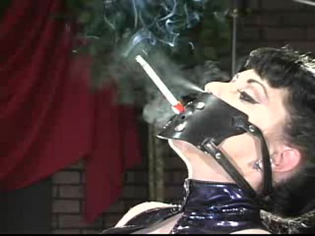 fetish Forced smoking