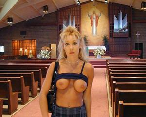 in church Milfs