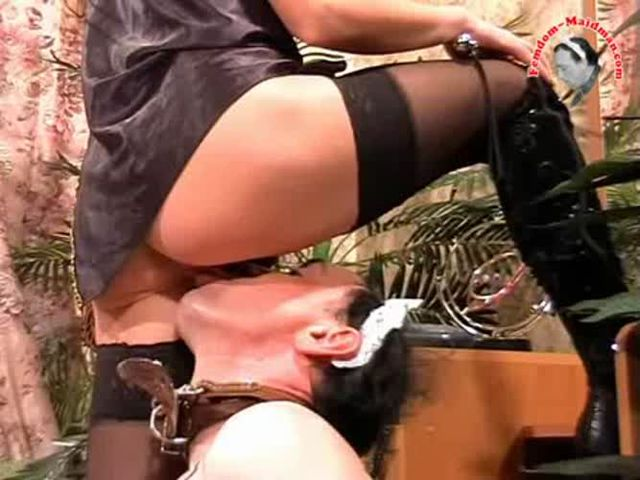 Adorable mistress valeria continuously faceslapping her slave 8