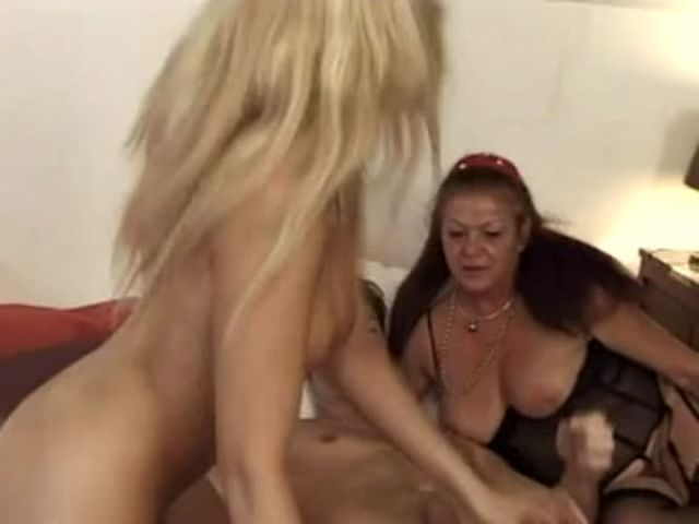 Blonde Milf Rides Husband
