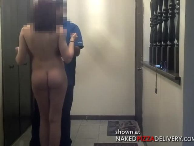 pizza delivery blowjob