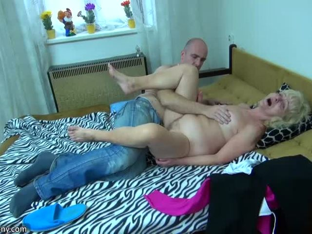 Compilation of mature and granny sex