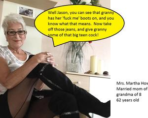 Apologise, but granny in fuck me boots charming idea