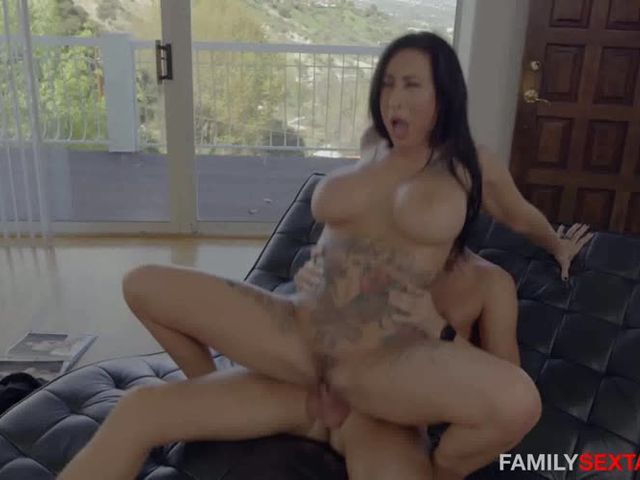 Stepmom Fucks Son Asleep