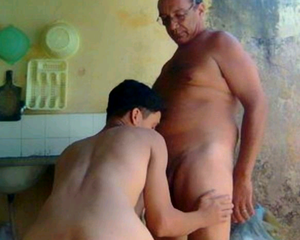 Old and young gay porn