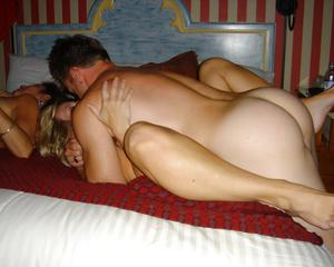 Amateur Swingers In Action
