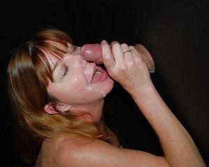 Wives at the gloryhole