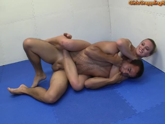 Mixed wrestling nude