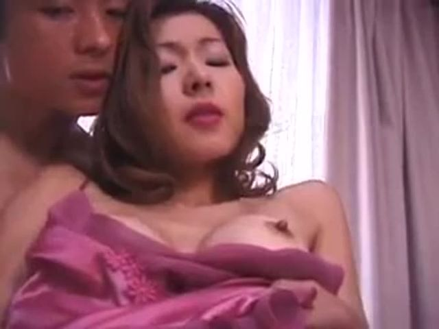 Japanese Mom Fucks Step Son