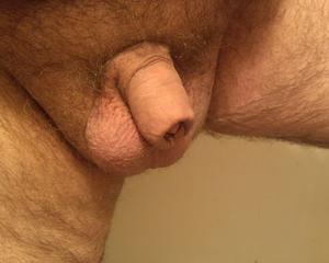 little uncut penis