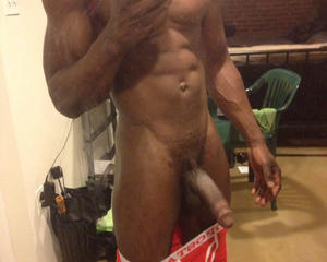 Black Self Dick Shot