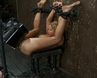 Rain DeGrey gets a forced SYBIAN workout