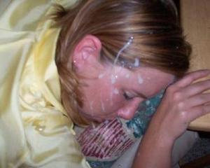 naked sleeping girls with cum on their face