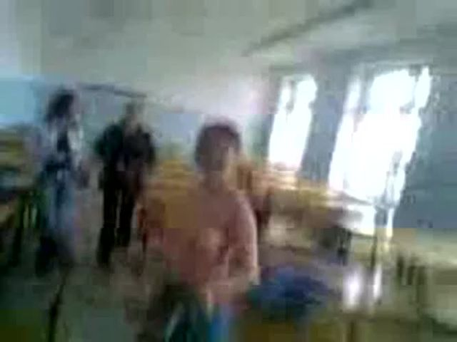 amateur russian teenStrip in the Classroom real