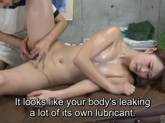Subtitles ENF CFNF Japanese lesbian massage clinic->