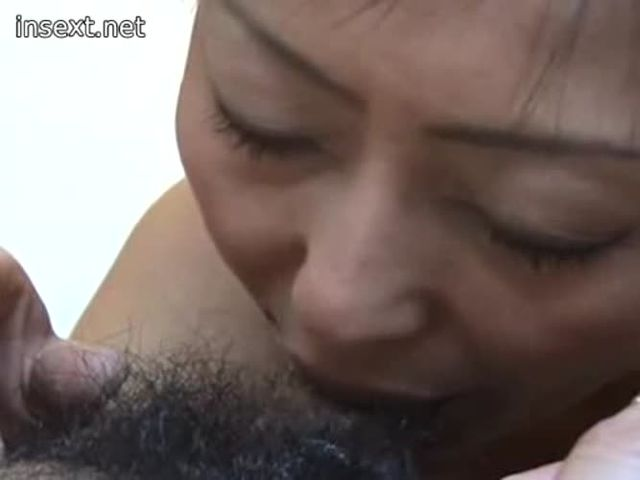 Japanese mother and son