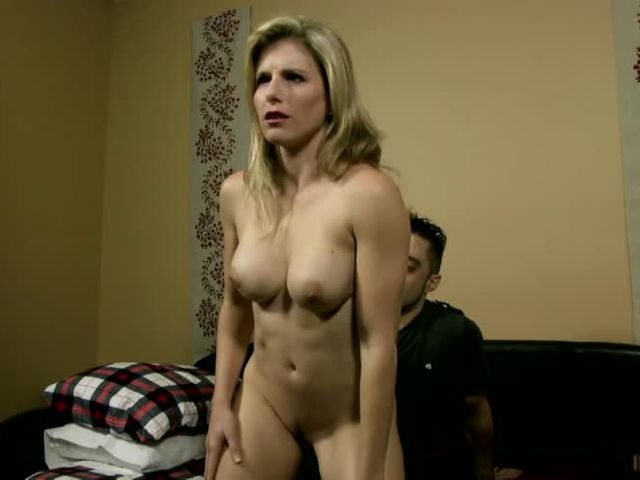woman hypnotized stripping video