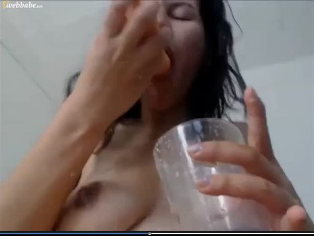Lactation Vomit and Piss Drinking
