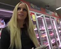 Interracial Ass Fucking In The Grocery Store