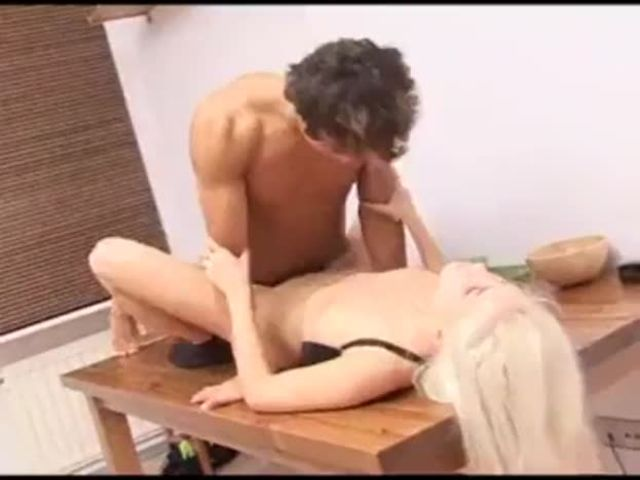 Russian Blonde Forced