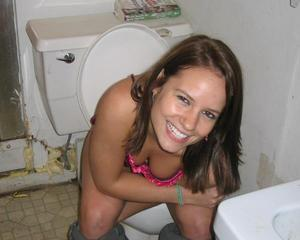 Girls On Toilets