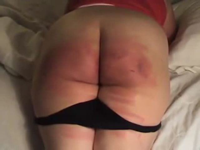 Chubby nude butt spanked — pic 11