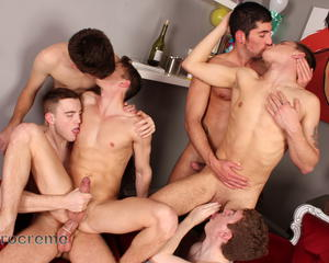 Best of All Male Orgies