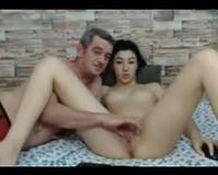 dad and daughter on cam together.AVI