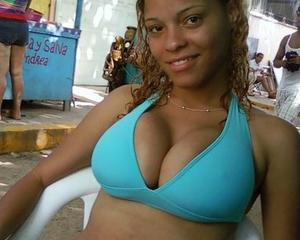 Big tit dominican