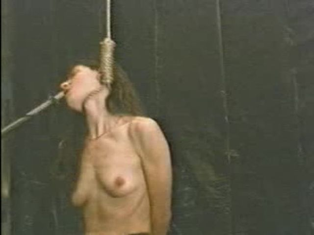 And the snuff hanging bdsm tube