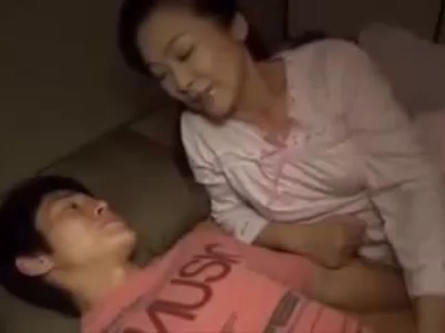 Japan Sweet Mother Teaching Son   ->