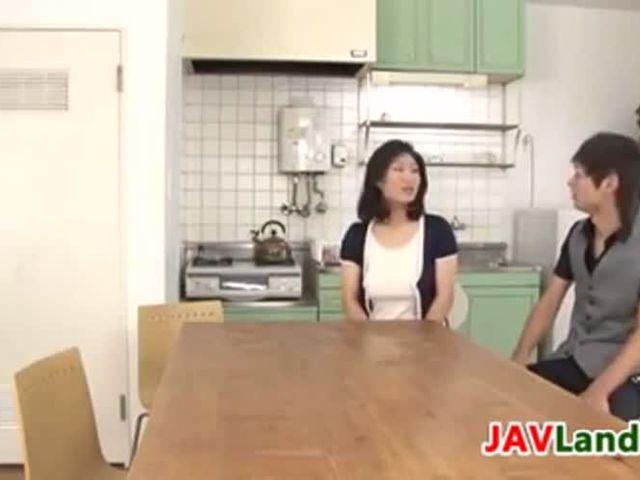 Japanese MILF Squirting Milk