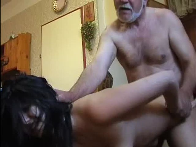 Old man forced porn