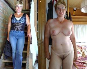 Clothed unclothed mature pics