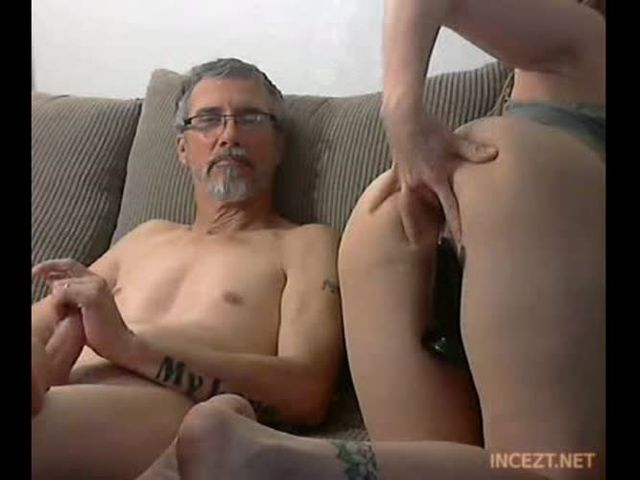 Young Blonde Teen Daughter Dad