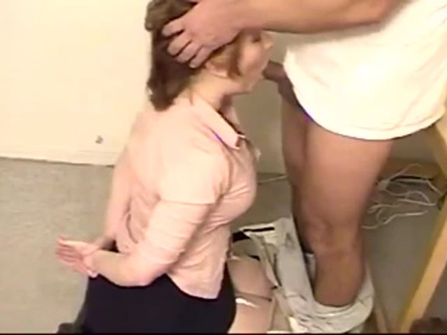 shy submissive wife blows